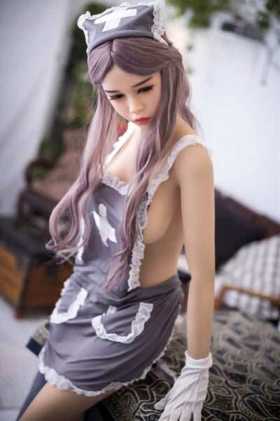 165cm 5.41ft Lifelike Sex Doll With 3 Entries E Cup TPE Silicone Real Dolls Nellie-sexdollslab.com
