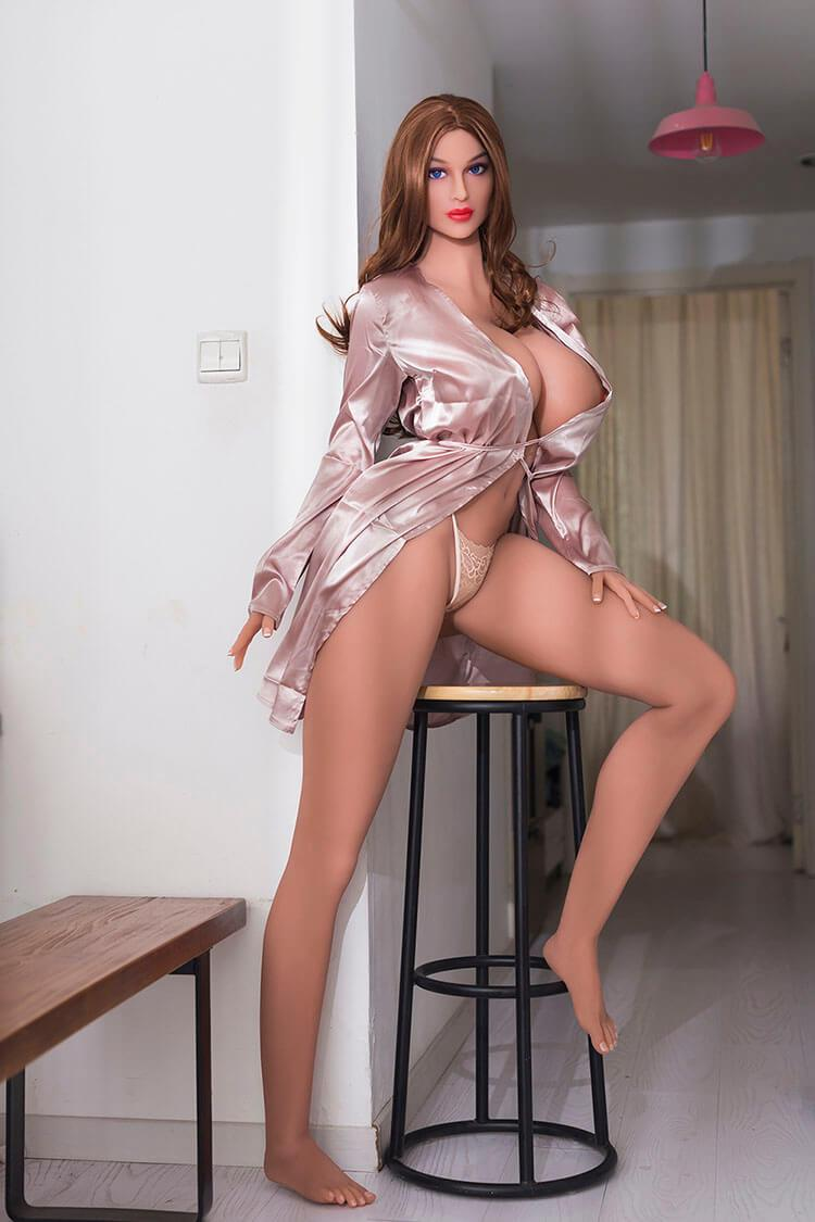 176m 5.77ft Silicone Sex Doll With 3 Entries H Cup Adult Lifelike Real Doll Jemima-sexdollslab.com