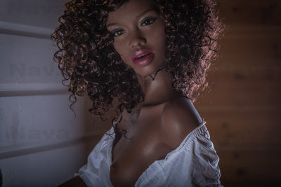 Ebony Sex Dolls 168cm 5.51ft A Cup Likelife Real Doll Natascha-sexdollslab.com