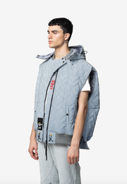 ELIAS OVERSIZED LUXURY STREETWEAR VEST - NISM