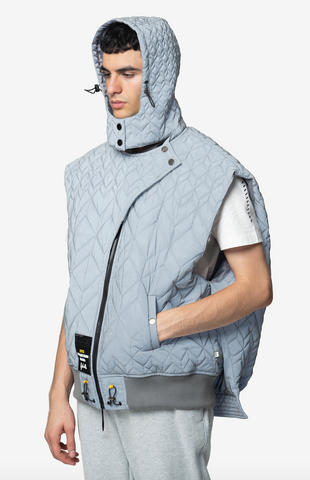 ELIAS OVERSIZED LUXURY STREETWEAR VEST- NISM
