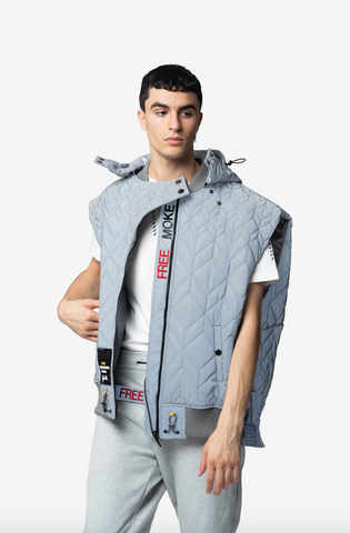 ELIAS OVERSIZED LUXURY STREETWEAR VEST - NISM | Luxury streetwear aesthetic vest mens