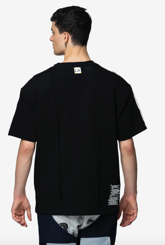 KANAAN OVERSIZED SHOULDER TEE - NISM