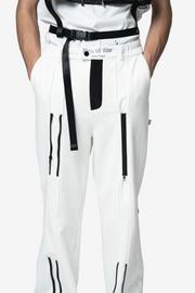 CASEY A LINE ZIP TROUSERS - NISM
