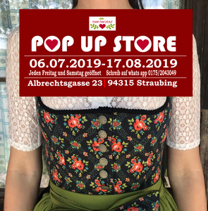 Pop up store in Straubing
