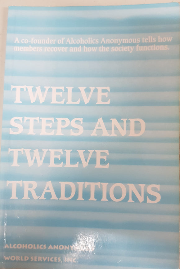 Twelve Steps and Twelve Traditions-Large Print