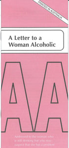 A Letter To A Woman Alcoholic