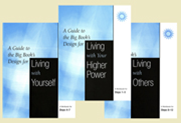 A Guide to the Big Book's Design for Living Workbook Set of 3 (Steps 1-12)