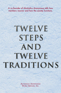 Twelve Steps and Twelve Traditions-Std Hard Cover