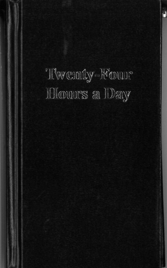 Twenty Fours Hours A Day (hard cover)