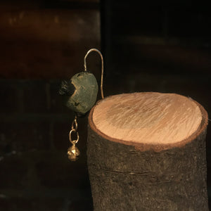 'You Are My Friend' Earring (Yellow Gold)