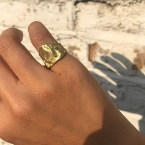 The Molten Gold Ring