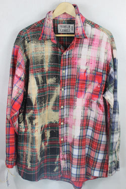 Vintage Multi-Plaid Flannel Size Large