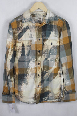 Vintage Rust, brown, and Cream Flannel Size Small