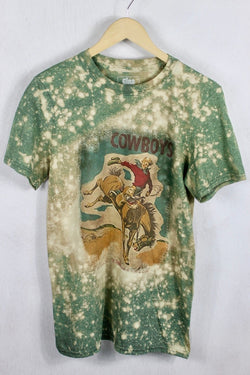 Cowboys and Bronco Tee