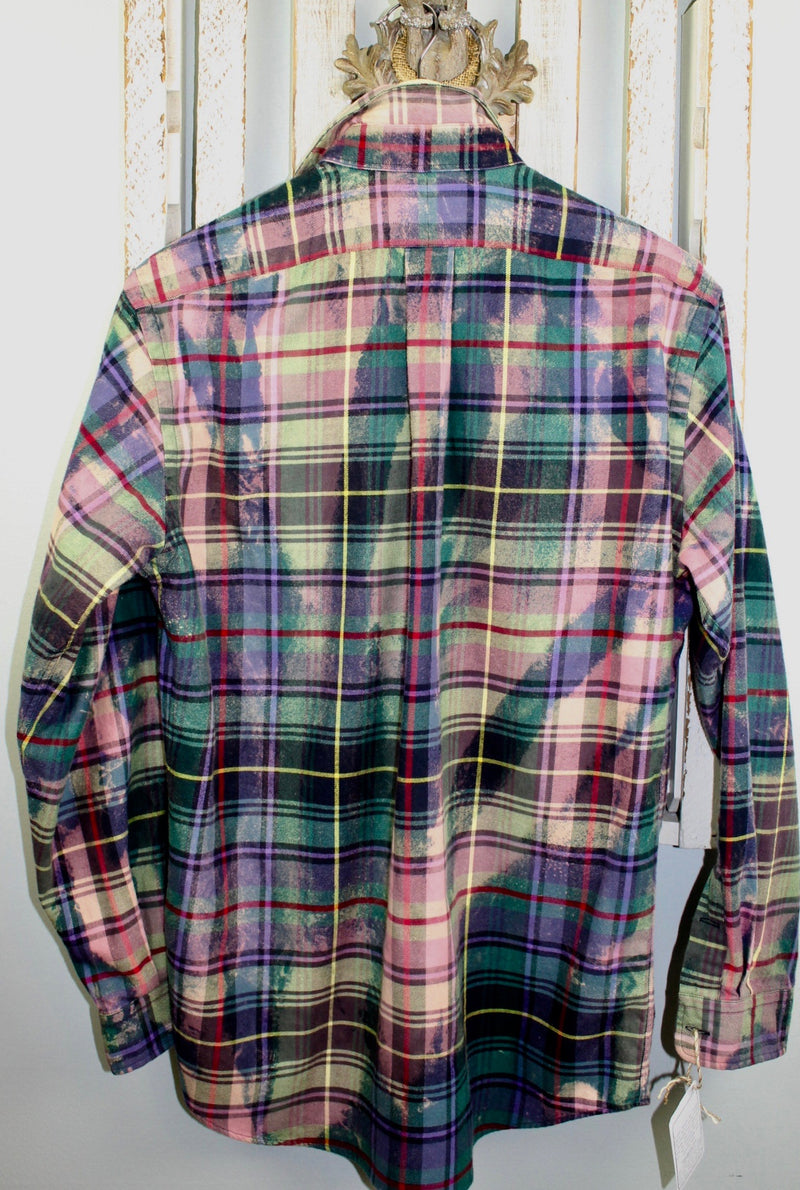 Vintage Jewel-toned Flannel Size Medium