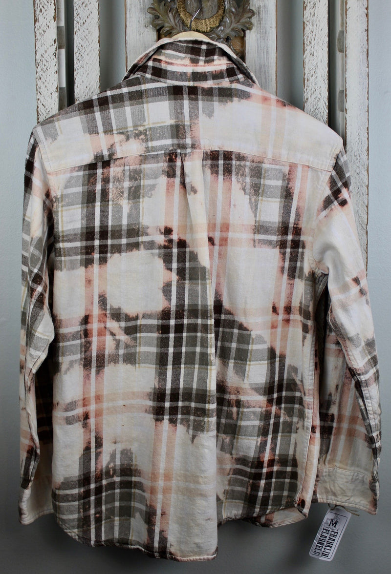 Vintage Neutral Tone Flannel Size Medium