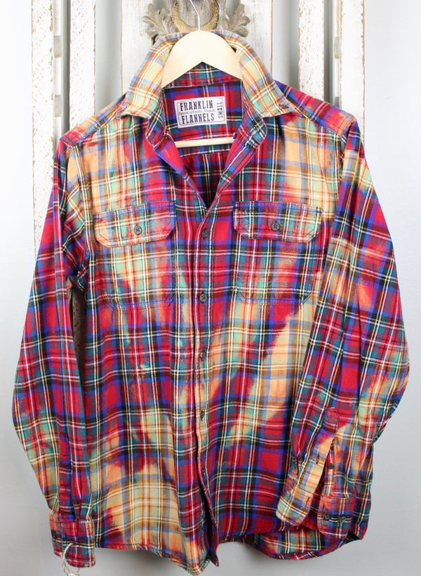 Vintage Tartan Plaid Flannel Size Small
