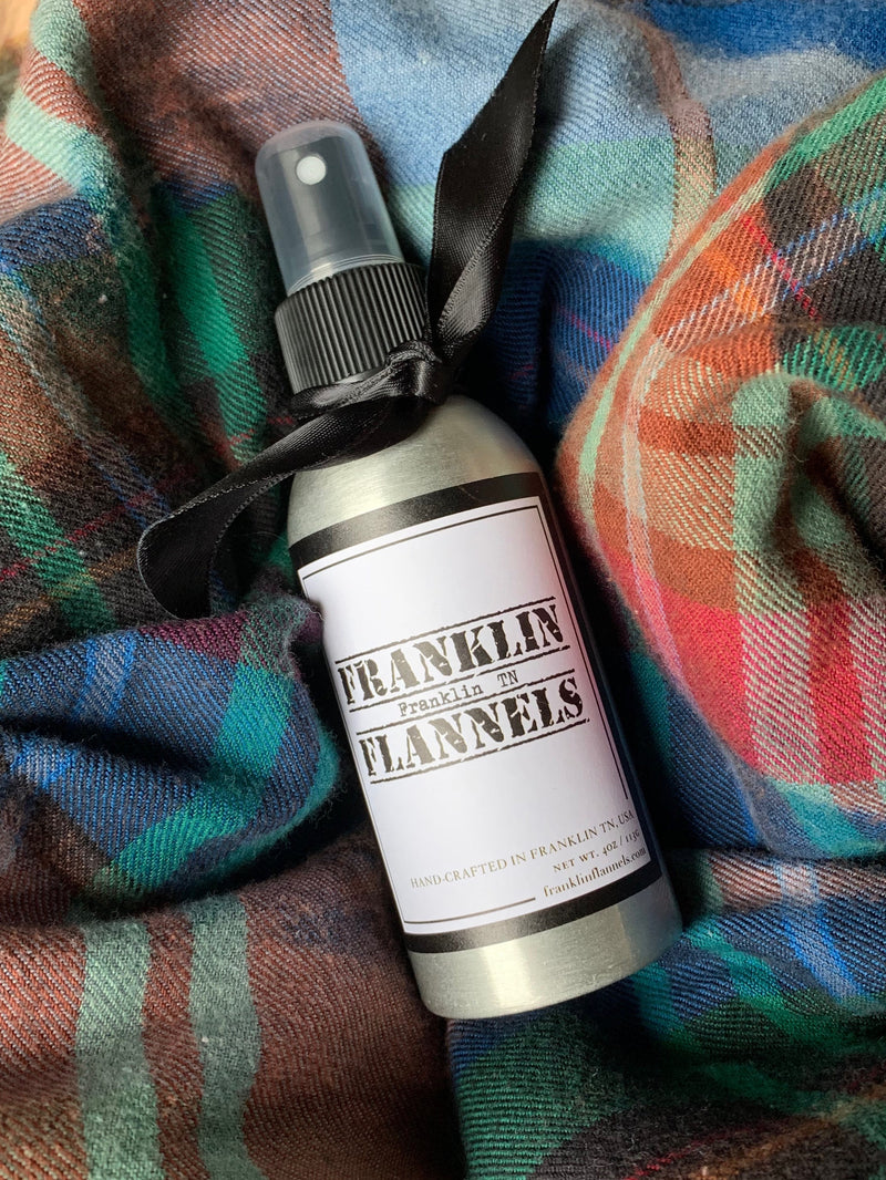 Franklin Flannels Linen Spray
