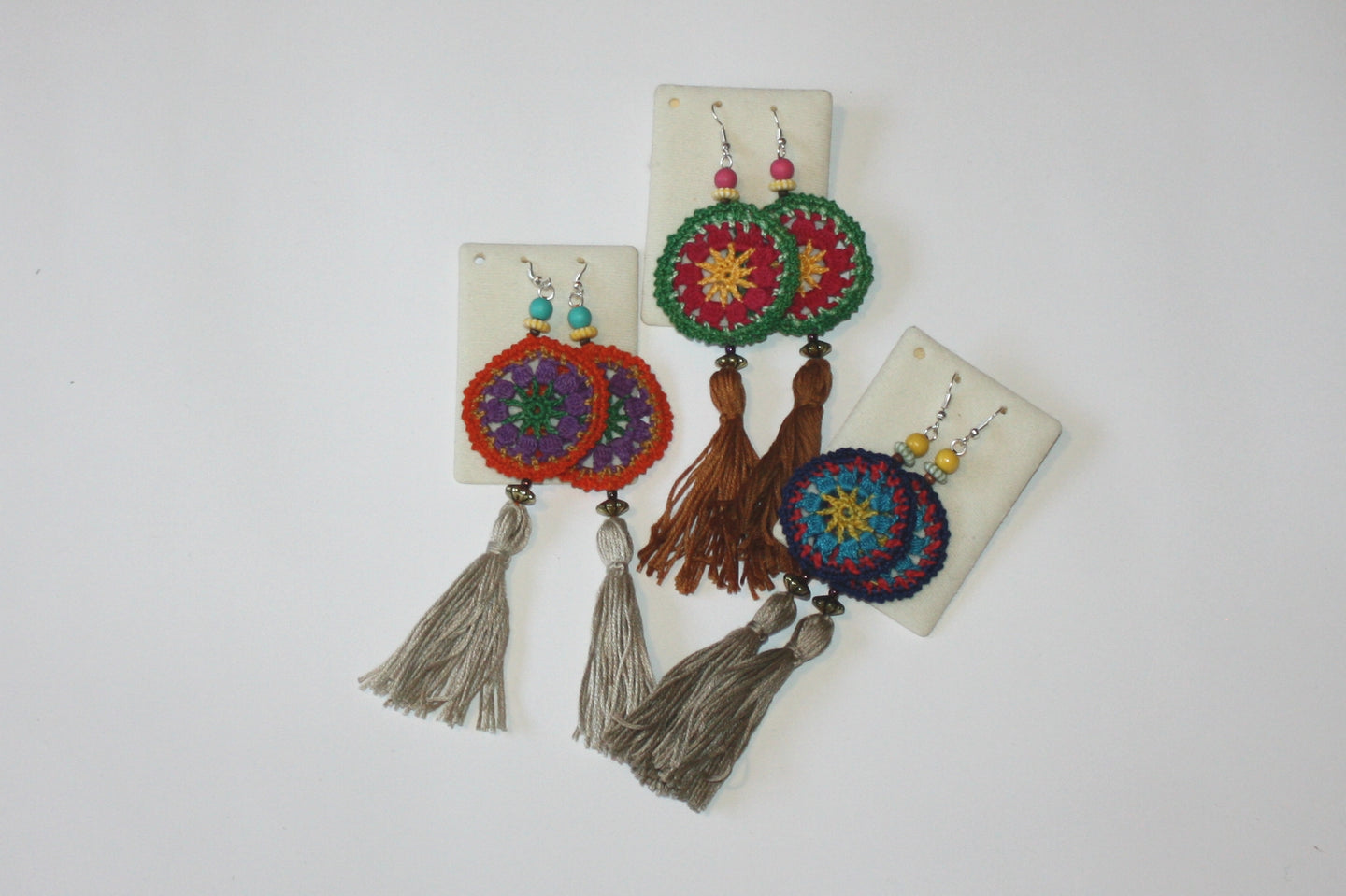 EARRINGS WITH TASSEL