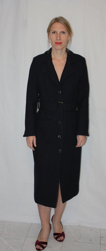 ANTHRACITE OVERCOAT