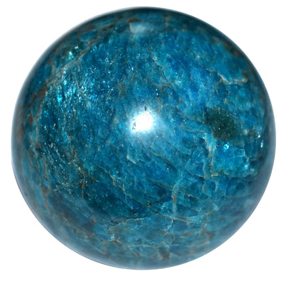 Buy Blue Apatite Sphere B Grade from Crystalline Creatures