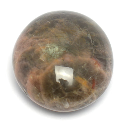 Black Moonstone Palm Stone - CRYSTALLINE CREATURES