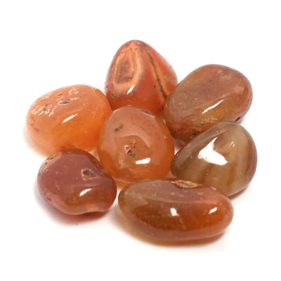 Buy Carnelian Tumbled Stones from Crystalline Creatures