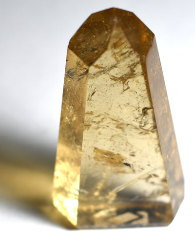 Buy Citrine Stone - Standing Point from Crystalline Creatures