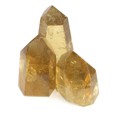 Citrine Standing Point - Crystalline Creatures