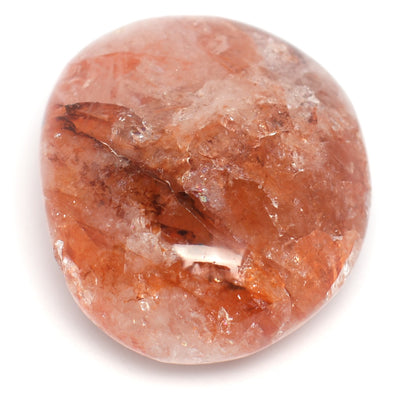 Buy Fire Quartz Palm Stone from Crystalline Creatures