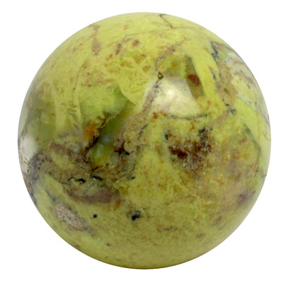 Green Opal Sphere - CRYSTALLINE CREATURES