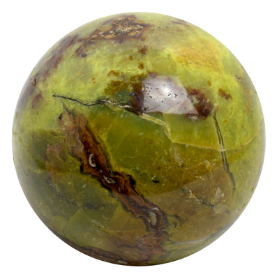 Buy Green Opal Sphere from Crystalline Creatures