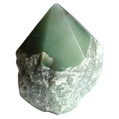 Buy Green Aventurine Half Polished Point from Crystalline Creatures