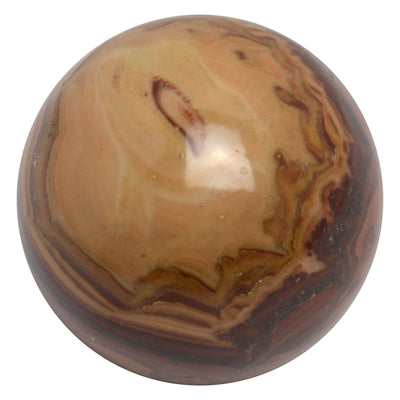 Buy Poppy Jasper Sphere from Crystalline Creatures