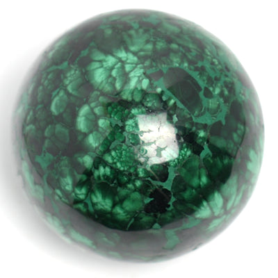 Buy Malachite Sphere from Crystalline Creatures