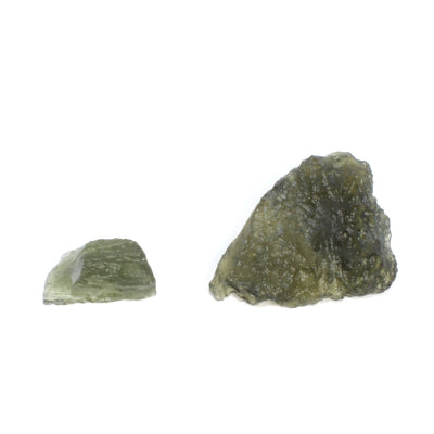 Moldavite Raw Pieces