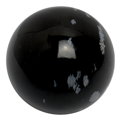 Buy Snowflake Obsidian Sphere from Crystalline Creatures