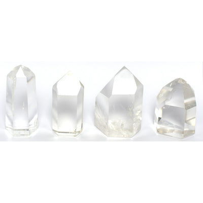 Buy Clear Quartz Standing Point from Crystalline Creatures