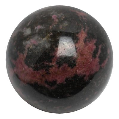 Buy Rhodonite Sphere from Crystalline Creatures