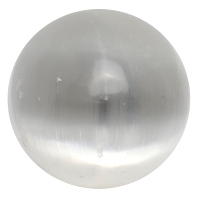 Selenite Sphere - Crystalline Creatures