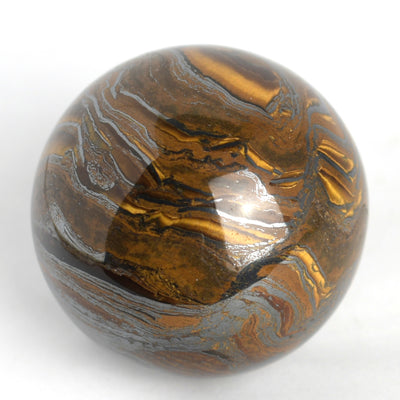Buy Tiger Iron Sphere from Crystalline Creatures