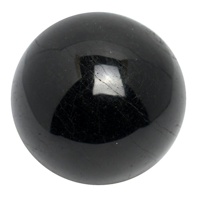 Buy Black Tourmaline Sphere from Crystalline Creatures