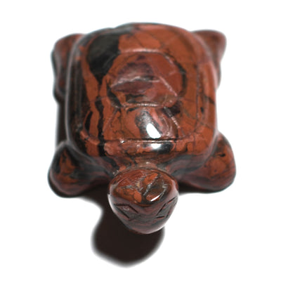 Crystalline Red Jasper Turtle - Crystalline Creatures