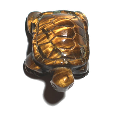 Crystalline Tiger's Eye Turtle - Crystalline Creatures