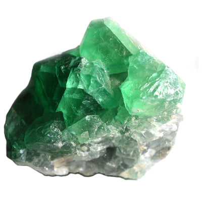 Buy Green Fluorite Octahedron Freeform from Crystalline Creatures
