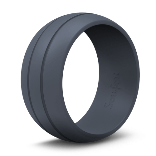 Women's Ultralite Dark Blue Silicone Ring