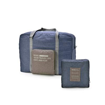 Foldable Travel Bag Canvas Slip-on Luggage