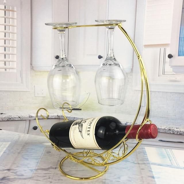 Wine Stand Hanging Glass Holder