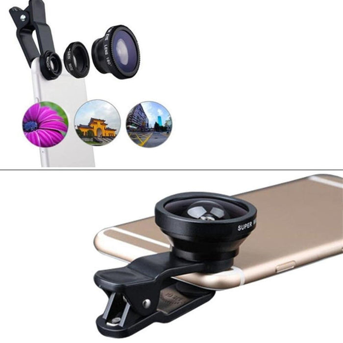Wide Angle (3-in-1) Macro Fisheye Lens